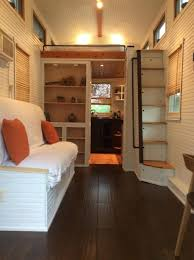 A  Square Feet Tiny House Mounted To A  Trailer In Nampa - Tiny house on wheels interior