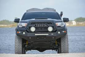 Dobinsons 4x4 Front Winch Bumper for 2016 & 2017 Toyota Tacoma 4x4 ...