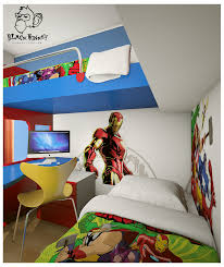 Superheroes Bedroom Avengers Bedroom Decor Iron Man Room Ideas Euskal Superhero Wall