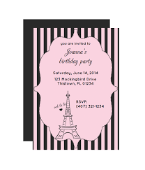 Printable Party Invitations Fashion Dresses