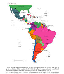 Wallalaf Blank Map Of South America And Central America