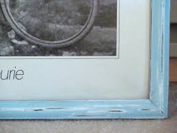 how to distress age antique a picture frame