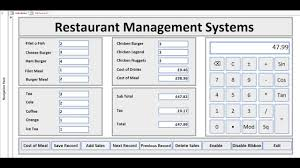 Best Way To Design A Database Develop The Best Restaurant Management System By Cfsol