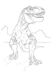 Small Picture Jurassic park coloring pages tyrannosaurus rex ColoringStar