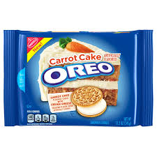 Oreo Carrot Cake Cookies 122oz 345g American Fizz