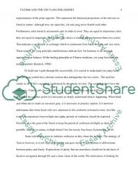 taoism and the yin yang philosophy essay example topics and well   text preview