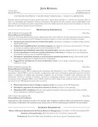 Human Resources Objective For Resume Assistant Specialist Examples