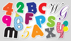 Letters By Number Letter Number Stickers Stickeryou Products Stickeryou
