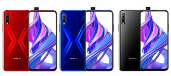 full specs of the honor 9x and 9x pro