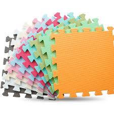 JCC 6pcset Baby EVA Foam Puzzle Play Mat kids Rugs Toys carpet for