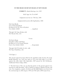 Examples Of Executive Resumes Sample Affidavit For No Birth