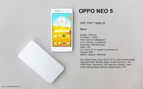 OPPO NEO 5 SPECS 2 - Rodel Flordeliz