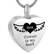 forever in my heart angel wing mom