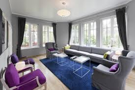 Purple Decor For Living Room Purple And Grey Living Room Ideas Living Room Design Ideas