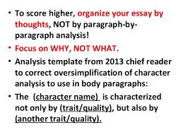 ap lit prose essay pointers scruggs 4