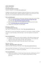 Prof Front End Web Developer Resume Awesome Professional Resume