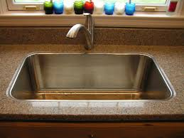Swanstone Granite Kitchen Sinks Nobody Does Drop In Sink On Stone Countertop Really