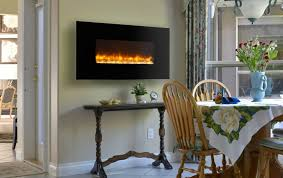 Small Picture Extraordinary Wall Mount Electric Fireplace Decorating Ideas