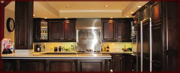 refinishing oak kitchen cabinets dark stain trendyexaminer