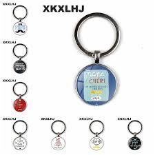 <b>XKXLHJ Exquisite Fashion I</b> Love Dad So Many Key chain Men's ...