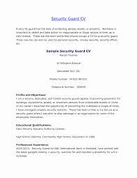 Gateway Security Guard Sample Resume Resume Format For Security Officer New Sample Of Resume For Security 4