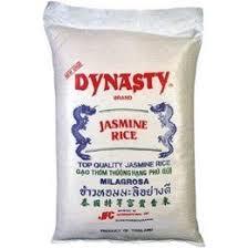 bag of jasmine rice. Dynasty Jasmine Rice With Bag Of
