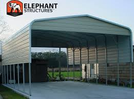 single slope carport plans