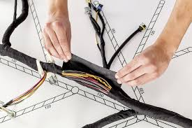 wire harness bundling and protection tesa wire harness bundling