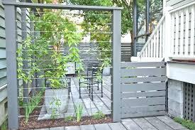 metal fence designs. Exellent Fence Modern Metal Fence Ideas Concrete Design  Landscape With Patio  Designs  On Metal Fence Designs