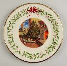 Cutest Collectibles  Lenox Trees Around The World PlatesLenox Christmas Tree Plates