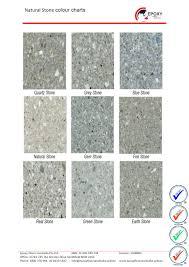 Stone Colour Chart Epoxy Flooring Australia