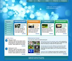 Templates For Websites Magnificent Web Design Blog Free XHTML CSS Templates For Different Websites