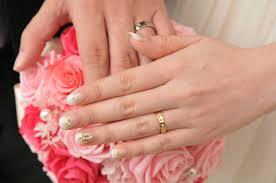 人気のブライダルネイルデザイン正統派からこだわり派まで 結婚指輪