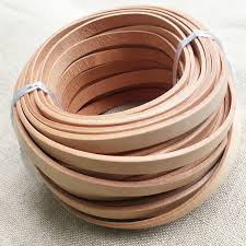 10mm wide flat leather cord for jewelry leather cord whole
