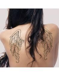 Andělská Křídla Na Záda Velké Nalepovací Tetování