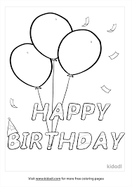 Happy birthday coloring pages are famous among kids from all age gatherings, making it a brilliant present for your little one on their extraordinary day. Happy Birthday Coloring Pages Free Birthdays Coloring Pages Kidadl