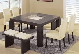 modern dining room sets with benches. contemporary dining room sets with benches 5 piece modern