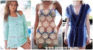 Crochet Beach Cover Up Pattern