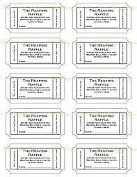 Numbered Raffle Ticket Template Free Httpbeebusydesignsindiemadesitesbeebusydesignsindiemade 7