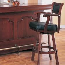 Coaster Lambert 30 Leather Bar Stools With Back E44