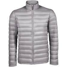 <b>Куртка мужская Wilson</b> Men, серая - 4uprint.ru