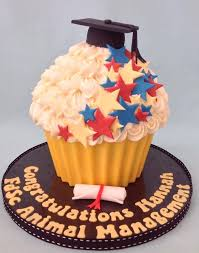 Graduation Desserts Giant Cupcake Cakes Graduation Cupcakes