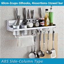 Small Picture Aliexpresscom Buy 60cm 10Hooks 2Cups Free Ship Wall Mount