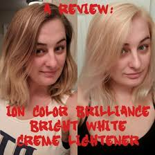 How To Use Ion Color Brilliance Bright White Creme Lightener