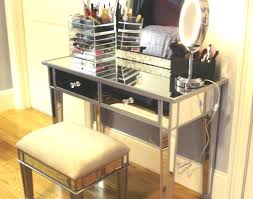 build a vanity set with lighted mirror