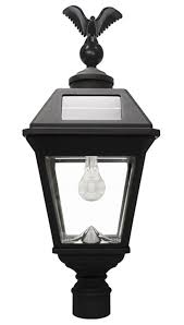 gama sonic br imperial b solar lamp br 3 pole mount