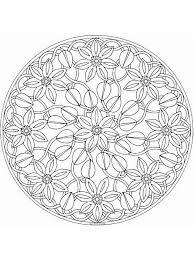 Mandalafiori9 Disegni Da Colorare Per Adulti E Ragazzi Colorare