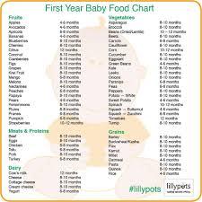 Baby Food List Homemadebabyfoodisbest Baby First Foods