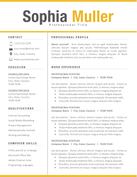 Free Modern Clean Simple Resume Templates Monzaberglauf Verbandcom