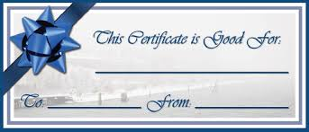Fillable Gift Certificate Template Free Waste Free Gift Certificates